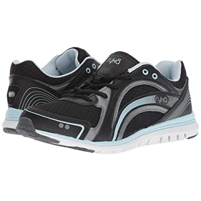 Ryka Aries SMW (Black/Grey/Blue) Women