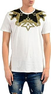 Collection Men's White Graphic Print T-Shirt US XL IT 54