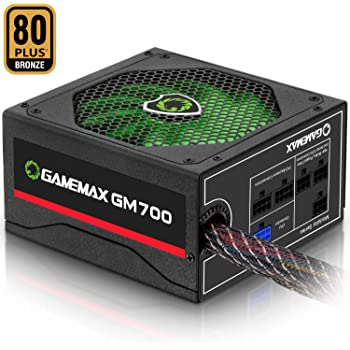 Power Supply 700W 80+ Bronze Semi Modular, GAMEMAX GM-700