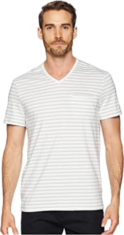 All Over Stripe Pocket T-Shirt