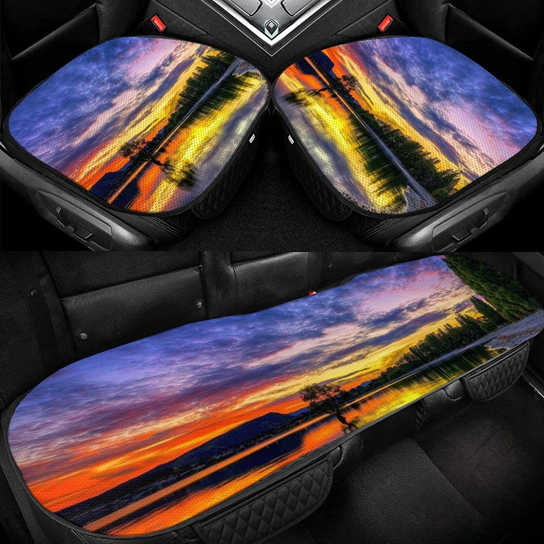 Beautiful Dusk Lake Car Seat Cushion Baltimore Mall C Washington Mall Driver Ice Silk