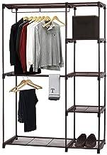 Simple Houseware Freestanding Cloths Garment Organizer Closet, Bronze