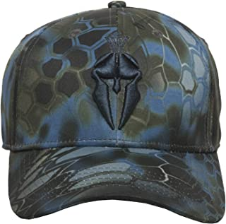 Kryptek Spartan Logo Camo Hunting Hat - 3D Layered Camouflage