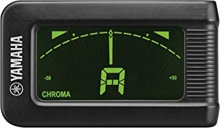 Yamaha YTC5 - Afinador electrónico de tipo pinza, color negro