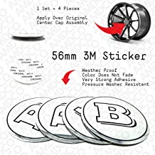 BLACK SILVER 68MM CENTER CAP HUB SET For SI TYPE R etc Emblem Badge Stickers Decals Fender Rear Front Hood Side Crest Body with Strong 3M Includes instructions MEASURE Before Purchase Fitment Top Quality pack of 4 AMDCO