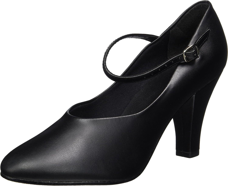 So Danca Women's Ch53 Character shoes Black