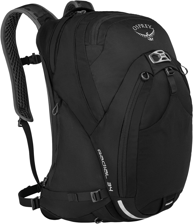 Osprey Packs Radial 34 Daypack, Black, Small Medium