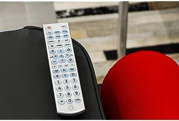 GE Big Button Backlit Universal Remote Control for Samsung, Vizio, Lg, Sony, Sharp, Roku, Apple TV, RCA, Panasonic, S...