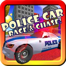 Police Car Toddler Racing! Toy Car Game For Little Kids With Siren, Lights, Cops & Robber Supercar 3D Action