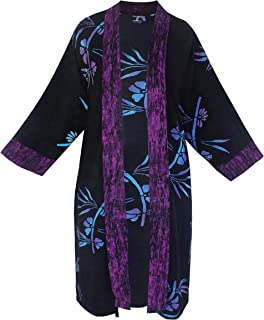 Women's Plus Size Long Kimono Cardigan Jacket with...