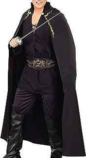 Rubie's Costume Co Men's Zorro Adult Deluxe Cape