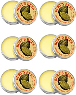 Burt's Bees Lemon Butter Cuticle Cream, 0.6 Ounces (Pack of 6)
