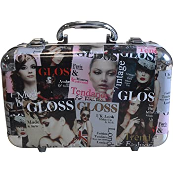 Gloss - caja de maquillaje, caja de regalo para mujeres - Maleta de Maquillaje - Beauty Tendance Color - 62 Pcs: Amazon.es: Belleza