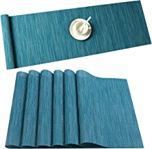Best blue table runner and placemats Reviews