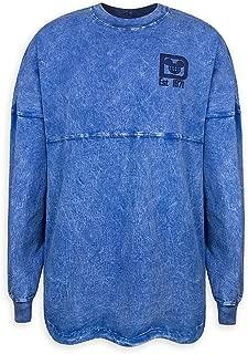 Disney Walt Disney World Mineral Wash Spirit Jersey for Adults - Blue