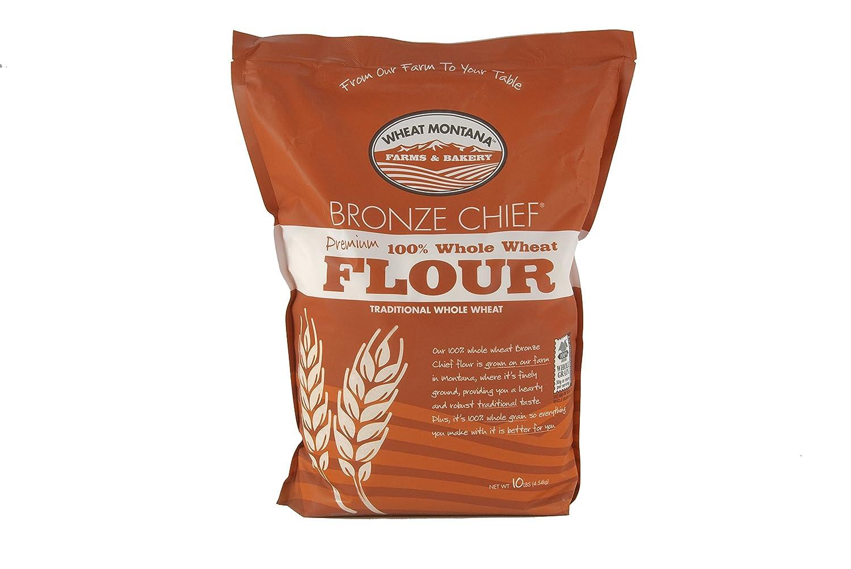 Wheat Montana - Bronze Chief Flour- 1 pack - 10lb bag