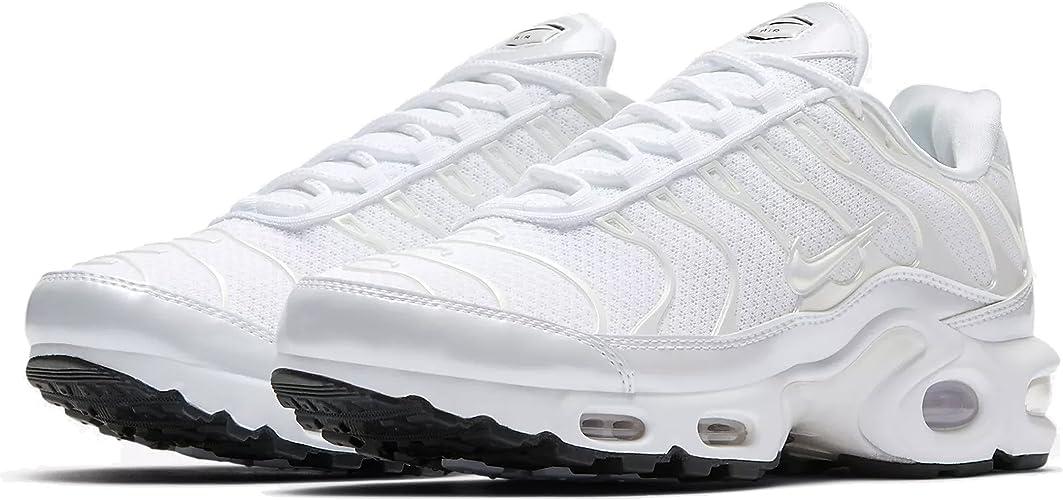 """Nike Air Max Plus Premium TN """"Triple White"""", Schuhe Damen, 37.5 EU ..."""