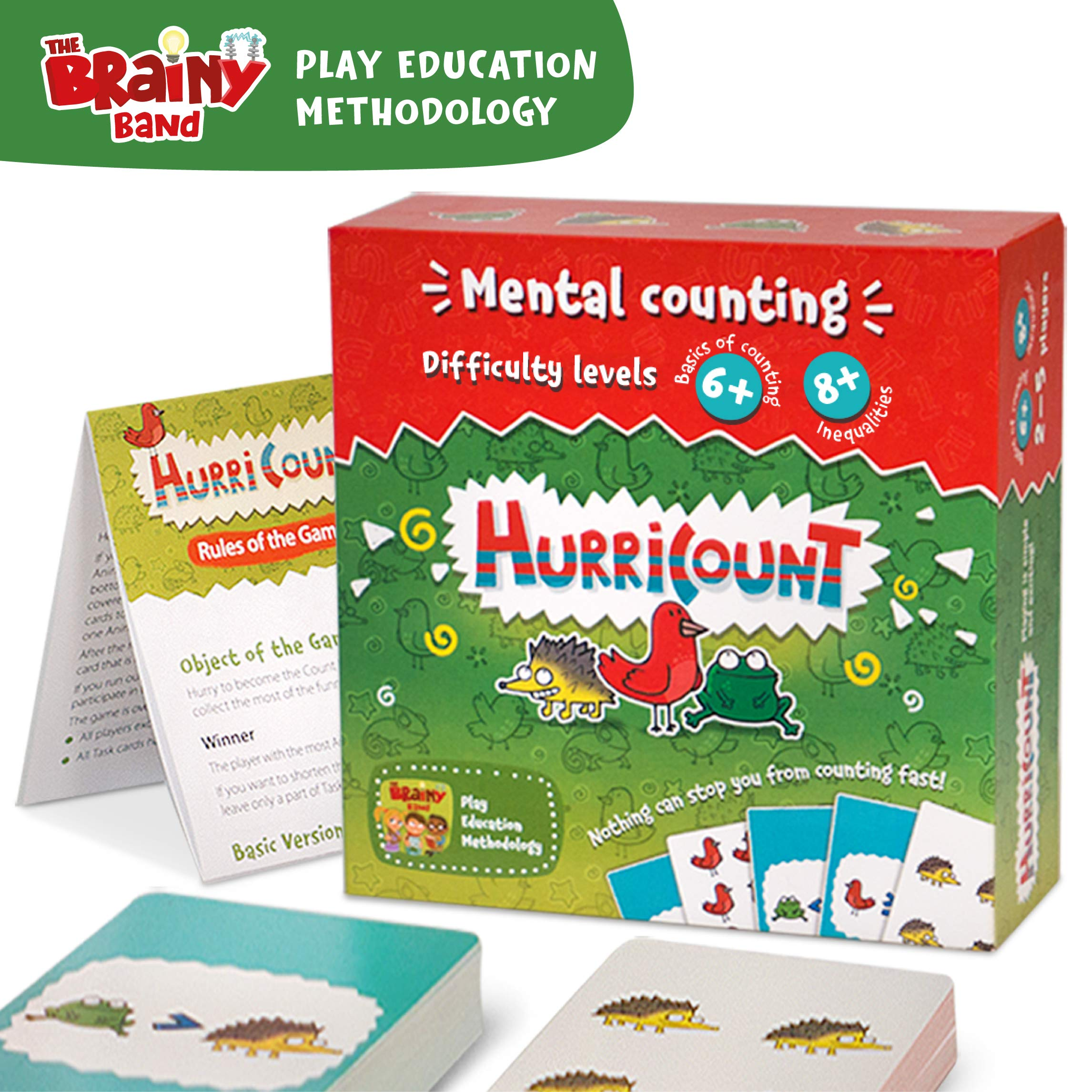 Amazon Com Fun Math Board Games For Preschoolers Counting Card Games For Kids Kids Games Ages 6 And Up Family Board Games Kindergarten Math Toys Games
