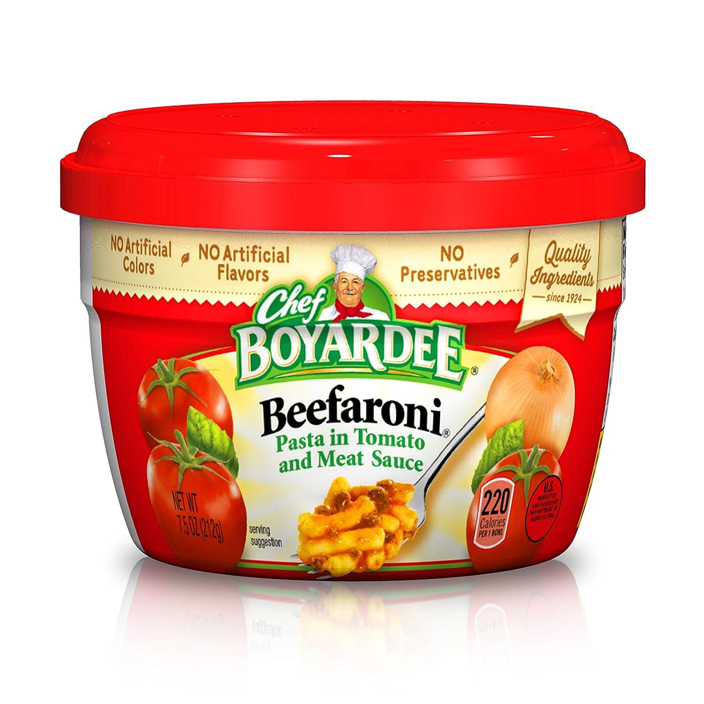 Chef Boyardee Beefaroni Pasta 7.5 12 Oz. of Same day High material shipping Pack