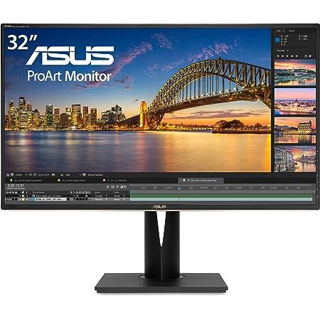 "Asus ProArt PA329C 32"" 4K (3840 X 2160) HDR10 Displayhdr600 Monitor 100% Adobe RGB IPS Eye Care DisplayPort USB Type-C HDMI,Black"