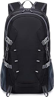 40L Mochila de senderismo separación seca y húmeda, ligera plegable, impermeable para hombres y mujeres bolsa portátil de senderismo al aire libre