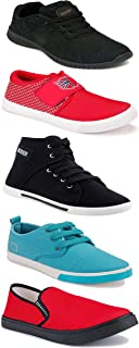 Shoefly Sports Running Shoes/Casual/Sneakers/Loafers Shoes for Men&Boys (Combo-(5)-1219-1221-1140-303-1024)