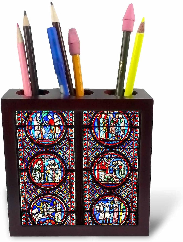 3dRosa 227193 _ PH 1, 2, 5 cm cm cm Buntglas-in Sainte chappelle Paris, Frankreich-Platte mit Halter B01J2IPKC8 | Attraktives Aussehen  412237