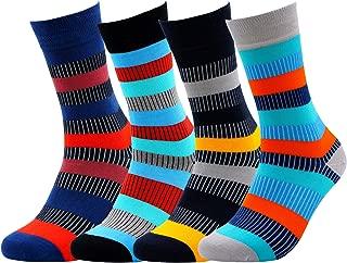 Colorful BAMBOO Socks for MEN WOMEN - Natural Silken Soft Seamless Casual or Dress Socks