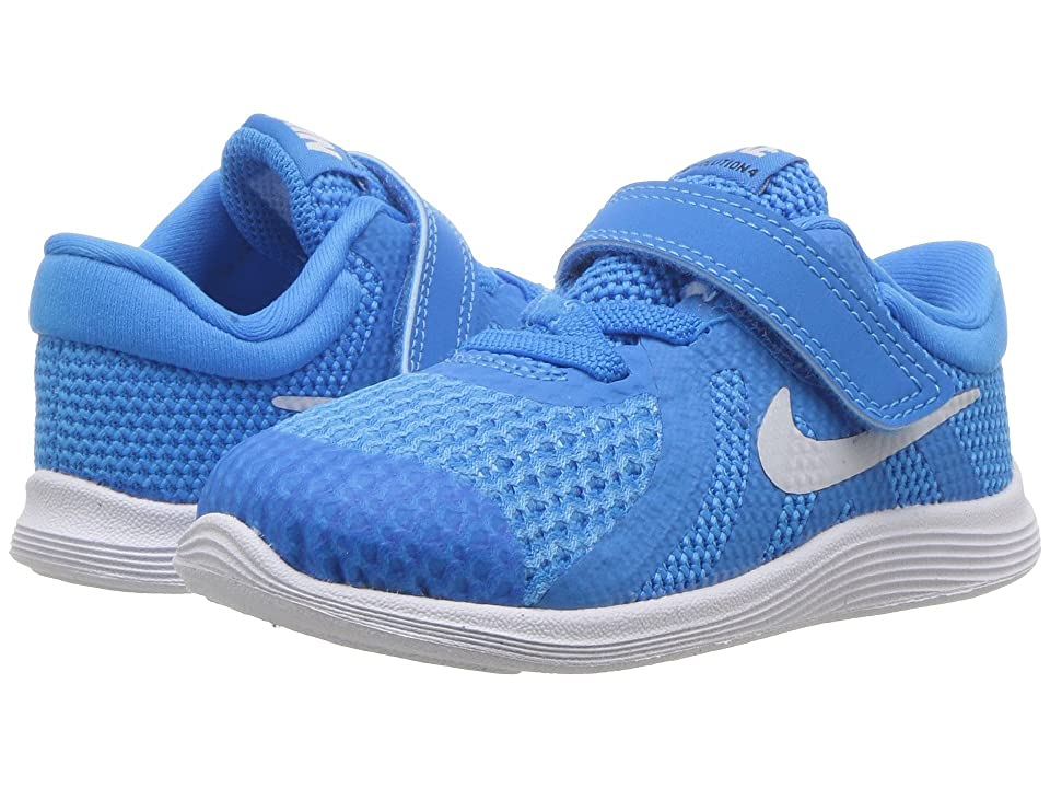 Nike Kids Revolution 4 (Infant/Toddler) (Blue Hero/Pure Platinum/Blue Glow/Black) Boys Shoes