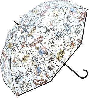 ワールドパーティー(Wpc.)  ディズニー雨傘 長傘  オレンジ  58cm  レディース プリンセス ビニール傘 DSV04-08