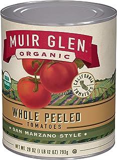 Muir Glen, Organic Whole Peeled Plum Tomatoes, 12 Cans, 28 oz