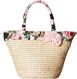 Dolce & Gabbana Kids - Straw Bag
