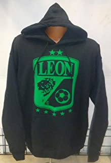 New! Club Leon Fc Black Hoodie