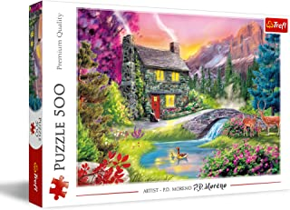 Trefl House In The Mountains Puzzle, 580x340 cm - Multi Color