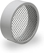 Raven R1509 3 inch PVC Termination Vent with Stainless Steel Screen, 3