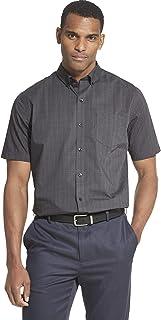 Van Heusen Men's Flex Short Sleeve Button Down Check Shirt