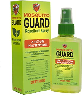 Mosquito Guard Répulsif Spray (4 FL Oz) Fait Avec 100% à Base De