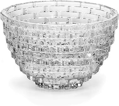 """Mikasa Palazzo Crystal Bowl, 9"""""""
