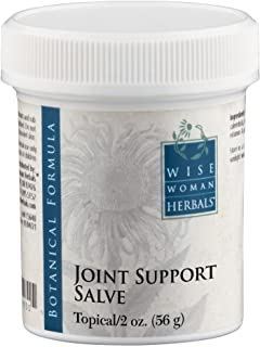 Wise Woman Herbals - Joint Support Salve - 2 Oz - Joint and Muscle Tension Soreness Cream, Aids in Reducing Inflammation and Supporting Recovery in Lower Back, Leg, Neck and Body - Warming and Cooling