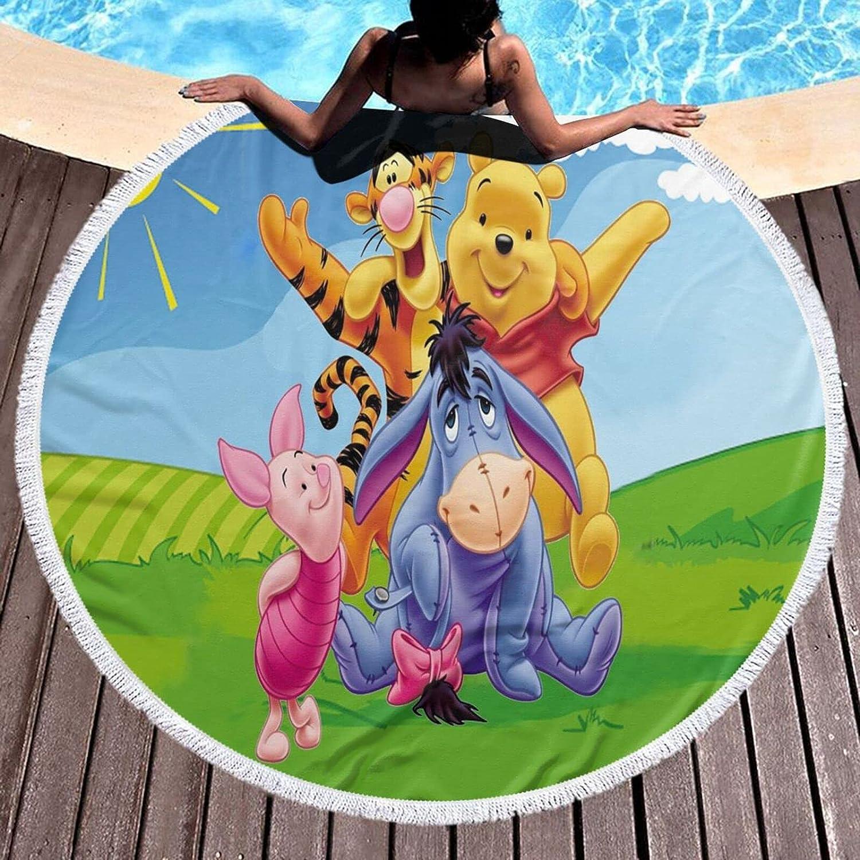 Win-nie The Pooh Beach Anime supreme Towel Summer Bargain Oversized