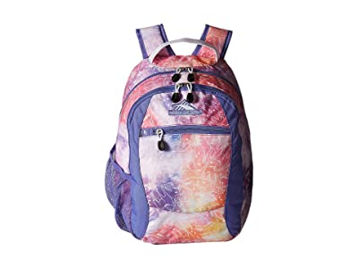 High Sierra Curve Backpack (Unicorn Clouds/Lavender/White) Backpack Bags