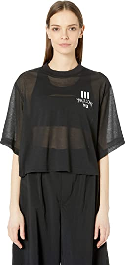 Love Sheer Short Sleeve Tee