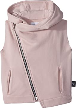 Nununu - Hooded Diagonal Vest (Toddler/Little Kids)