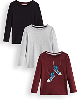 Pack of 3 RED WAGON Boys Long Sleeve Top