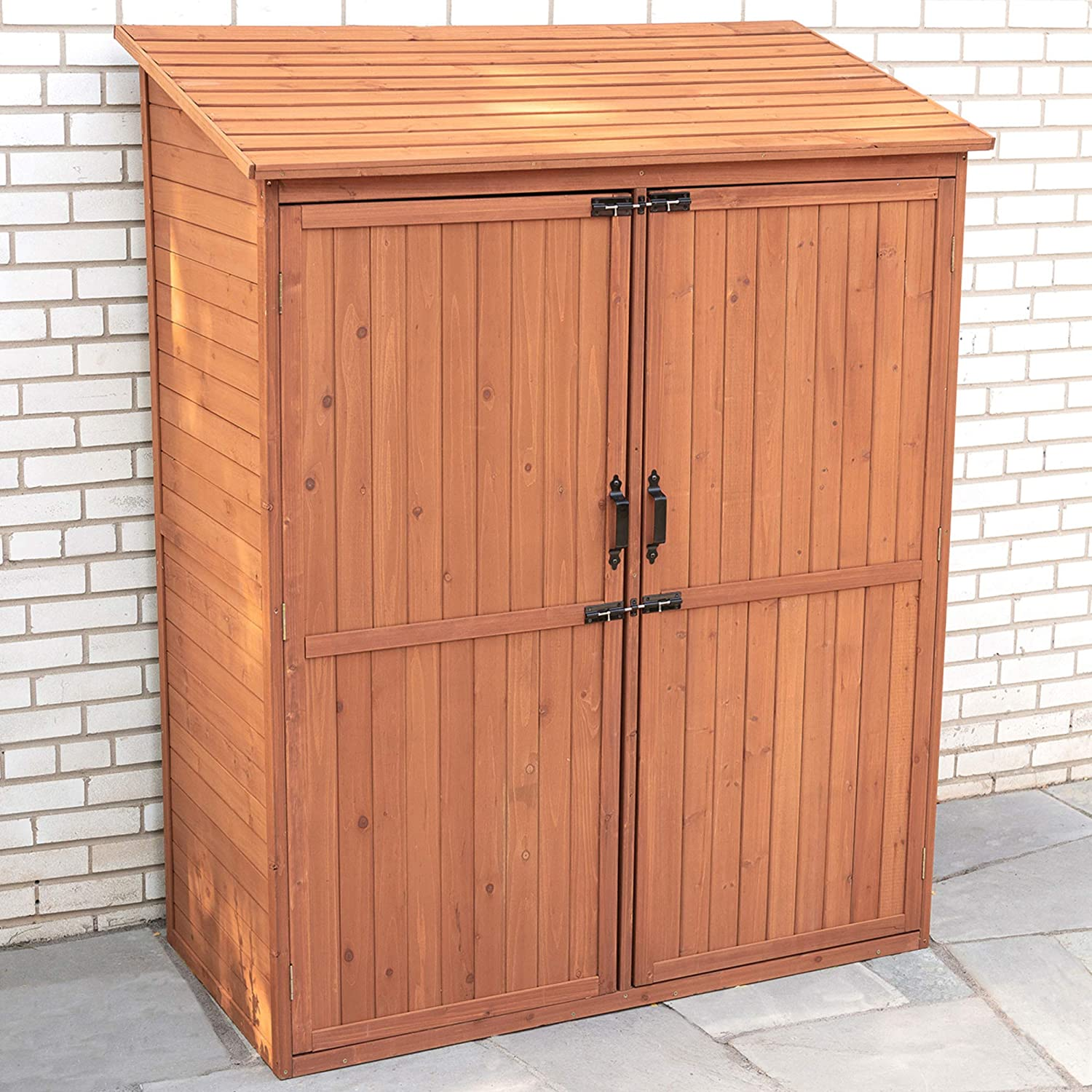 Leisure Season SPC5187 35% OFF Storage Shed with Out Pull - Brown Sale SALE% OFF Crates