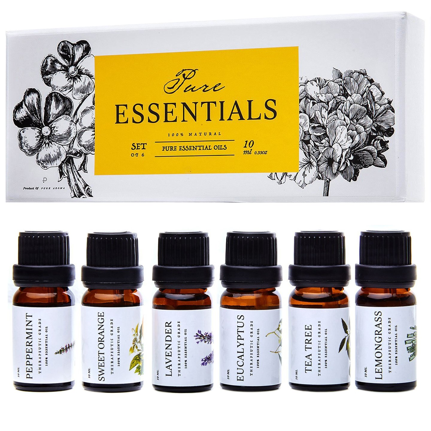 ESSENTIALS Pure Therapeutic Aromatherapy Eucalyptus