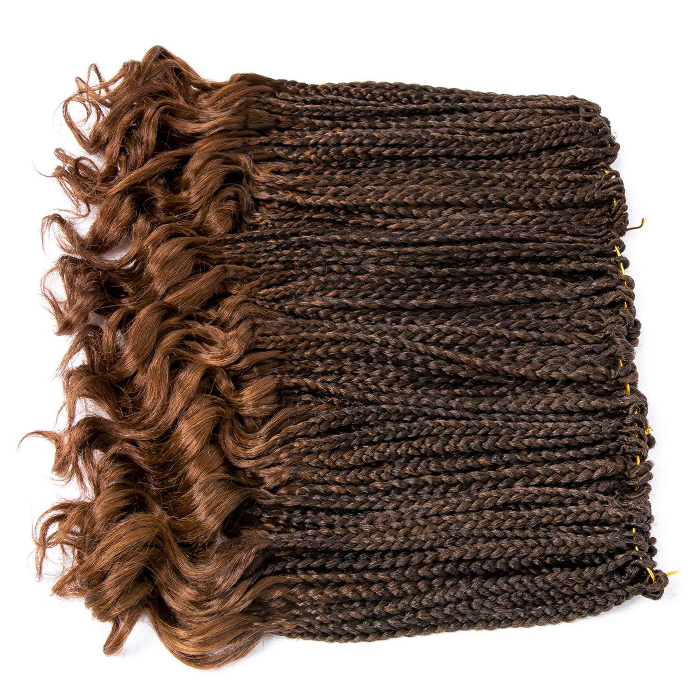ZZZ Super popular specialty store 3X Box Braid Braids Los Angeles Mall Crochet Extension Hair