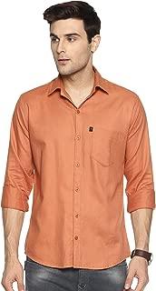LEVIZO 100% Cotton Casual Shirt Full Sleeves for Men
