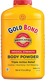 Gold Bond Medicated Powder 10-Ounce Containers (Pack of 3)