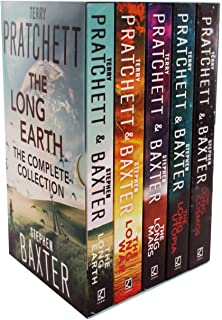 The Long Earth 5 Books Collection Box Set by Terry Pratchett & Stephen Baxter